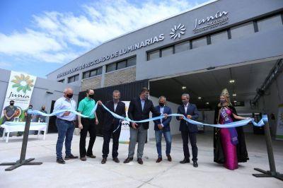 Quedó inaugurada en Junín la «Primera Planta de Reciclado de Luminarias»
