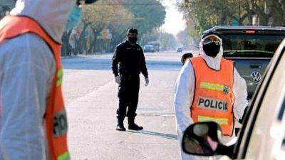 Informaron cuántos policías sanjuaninos tienen coronavirus: hay más de 100 aislados