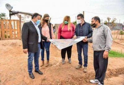 Quintela destacó que con el Plan Angelelli se busca mejorar la calidad de vida de miles de familias