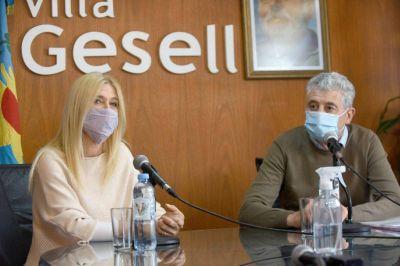 "Verónica Magario visitó Villa Gesell: ""He visto gran inversión Municipal"""