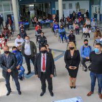 Ishii celebró la entrega de DNI a residentes extranjeros en José C. Paz