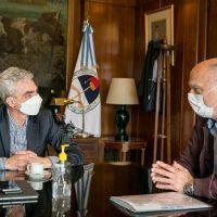 Grindetti y Meoni analizaron proyectos de transporte para Lanús