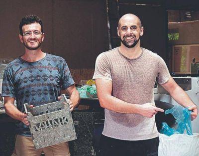 Con PlasticPeople, un argentino y un español dan nueva vida a la basura plástica de Vietnam