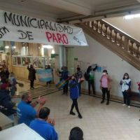 Nueva protesta de los gremios municipales