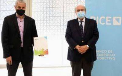Avellaneda: Ferraresi firmó un convenio con el Banco de Inversión y Comercio Exterior para compra de maquinaria