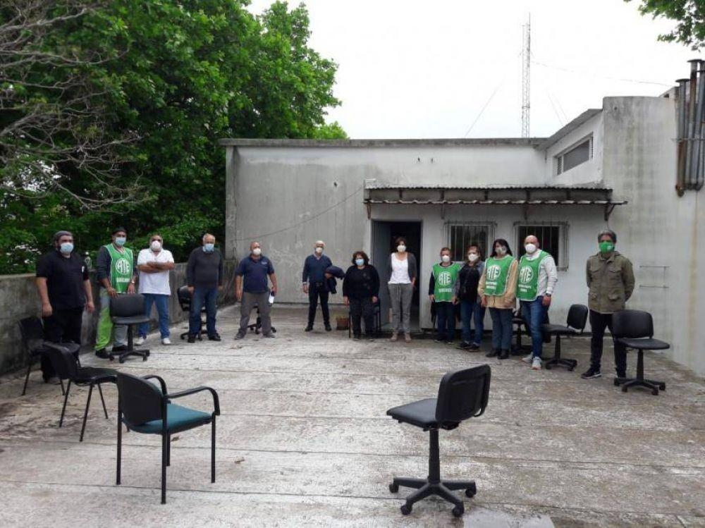 Reunión de ATE con autoridades del Hospital Iriarte