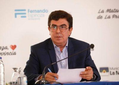Espinoza elogió a los empresarios locales
