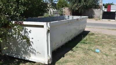 Puntos para depositar residuos voluminosos