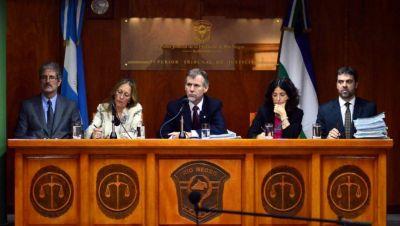 Rechazaron la demanda de un juez de Bariloche contra el Poder Judicial