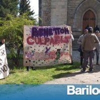 El reclamo de las comunidades mapuche llegó hasta la Catedral