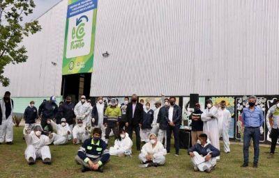 Cabandié entregó equipamiento de protección para las y los recicladores urbanos de Avellaneda
