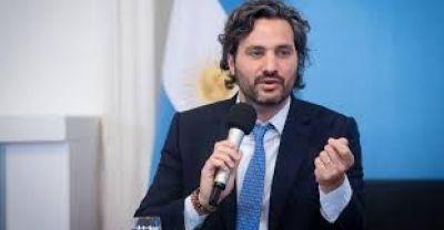 """Santiago Cafiero: """"Argentina se va a pegar un porrazo enorme producto de la pandemia"""""""