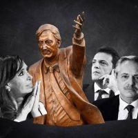 Cristina vuelve al centro de la escena política, entre la crisis del Gobierno y la renovación del mito de Néstor Kirchner
