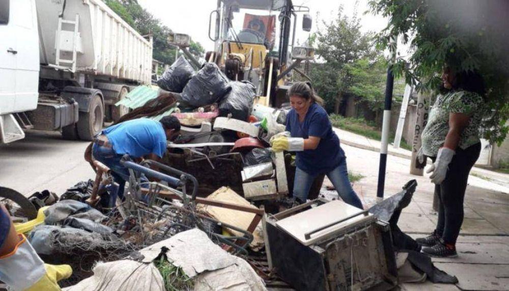 Se recolectaron más de 600 toneladas de cacharros