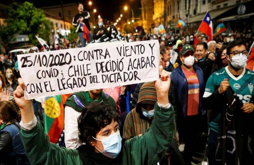 """Chile. Daer consideró el plebiscito de reforma de la Constitución como """"una victoria de América Latina"""""""