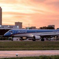 Luego de siete meses, se reinició la actividad aerocomercial en Mar del Plata