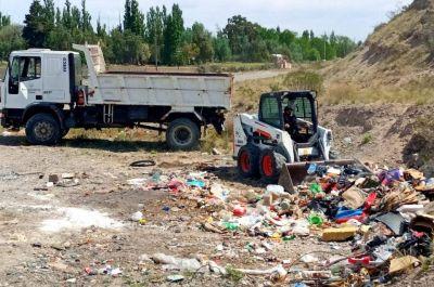 Vandalismo contra el sistema de recolección de residuos