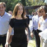 Vidal pone segunda en la recorrida por las secciones: llegó el turno de la Octava