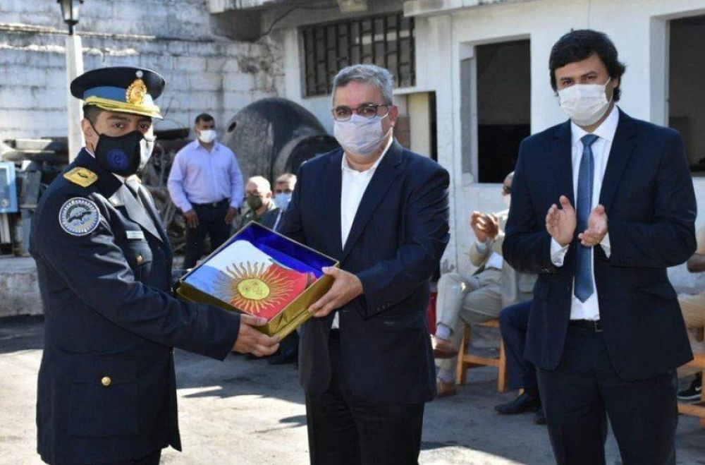 Jalil en los actos por el 199° Aniversario de la Policía Federal