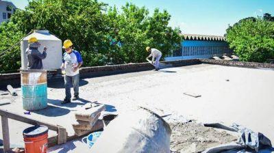 Empezó la obra para reacondicionar el polideportivo municipal de Escobar
