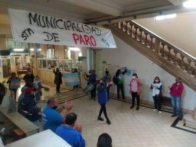 El Ministerio de Trabajo dictó la conciliación obligatoria para los municipales