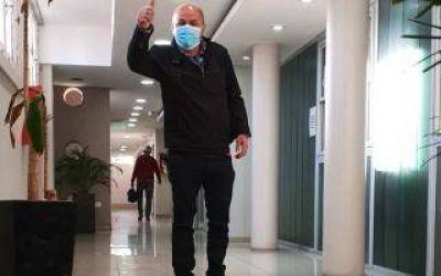 Mario Secco, Intendente de Ensenada, volvió a la Municipalidad tras recuperarse de Covid-19: