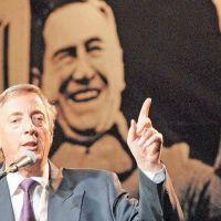 Néstor, un peronista que llevaba la política en el alma