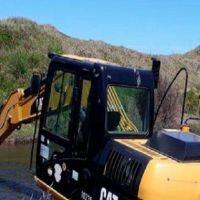 Luna Roja: denuncian obras prohibidas en el arroyo
