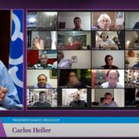 El presidente del CIPBA participó junto a Alberto Fernández del encuentro «Credicoop y la comunidad»