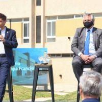 """Kicillof sobre Macri: """"Que algún periodista le pregunte por qué dejó tanto tiempo las obras paradas"""""""