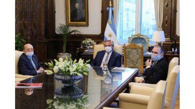 Alfredo Coto anunció inversiones por USD20 millones en un encuentro con Alberto Fernández