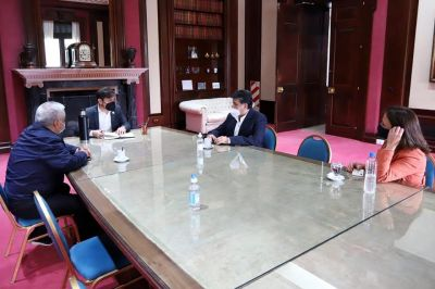 La UATRE acordó con Kicillof continuar con la agenda de Ramón Ayala