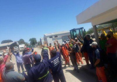 El SUOEM lleva adelante medidas gremiales en el Corralón Municipal