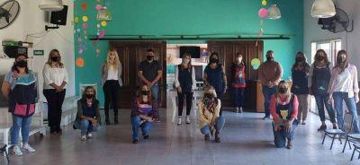 El intendente creó en Baradero el primer Equipo de Orientación Escolar Distrital Municipal en Jardines de la provincia