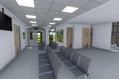 Juan Andreotti anunció la ampliación del Hospital Oftalmológico Municipal