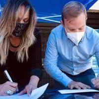 Ezeiza: Galmarini y Granados habilitaron nueva red de agua potable que beneficiará a miles de vecinos