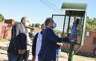 La Municipalidad recuperó un espacio donde antes había un basural en el Villa García