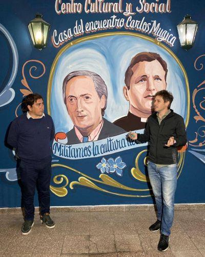 """Encuentro Peronista inauguró el Centro Cultural y Social """"Carlos Mugica"""" Homenaje a Néstor Kirchner"""