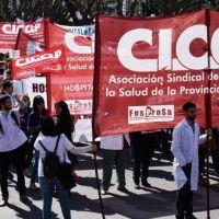 Cicop realiza una caravana en reclamo de aumento salarial