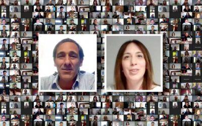 Con la mirada puesta en las elecciones 2021, Garro y Vidal mantuvieron una reunión virtual