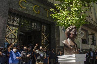 La CGT homenajeó a Néstor Kirchner