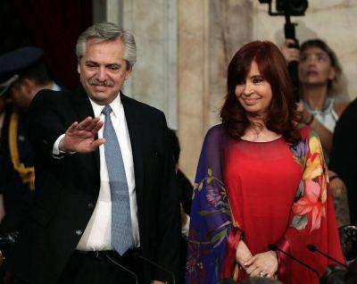 Cristina invita al acuerdo pero el que tiene que pagar es Alberto