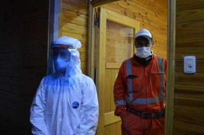 En Calingasta, 18 mineros aislados por un caso de coronavirus