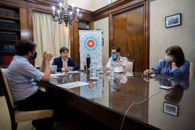 Provincia firmó los convenios para ejecutar obras de infraestructura sanitaria en Tandil