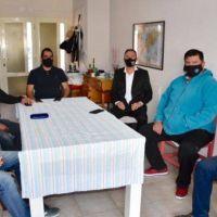 Maderna reunió a dirigentes del Partido Justicialista en Trelew