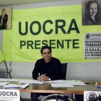UOCRA: César Trujillo fue designado como delegado a cargo de la Seccional La Plata