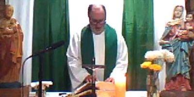 La última Misa de un sacerdote antes de ser asesinado