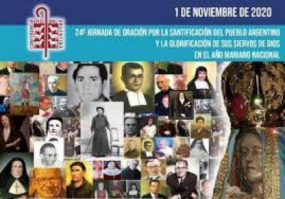 Mons. Olivera invita a la Jornada de Oración por la Santificación del Pueblo Argentino