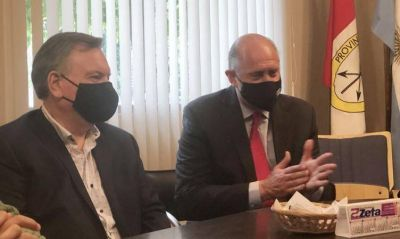 Michlig le pidió a Perotti que el presupuesto 2021 contemple obras para San Cristóbal