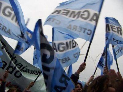 Agmer exige al Gobierno que convoque a paritarias y cancele la presencialidad